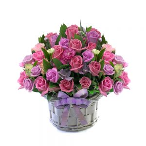 Korea flower basket gift