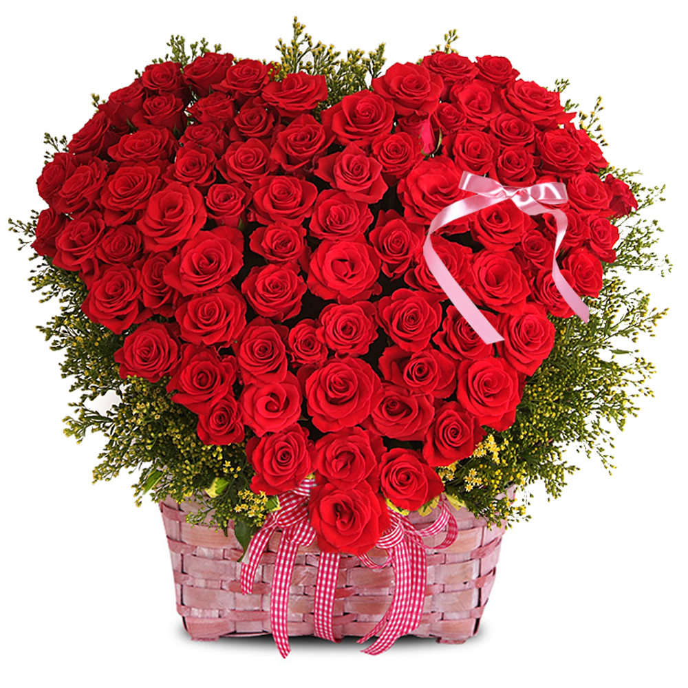 Seoul flower basket gift