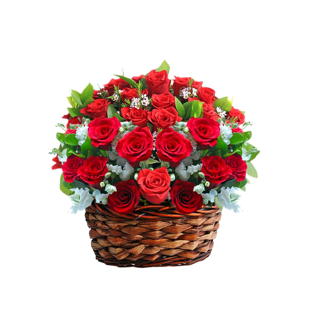 Korea flower basket delivery
