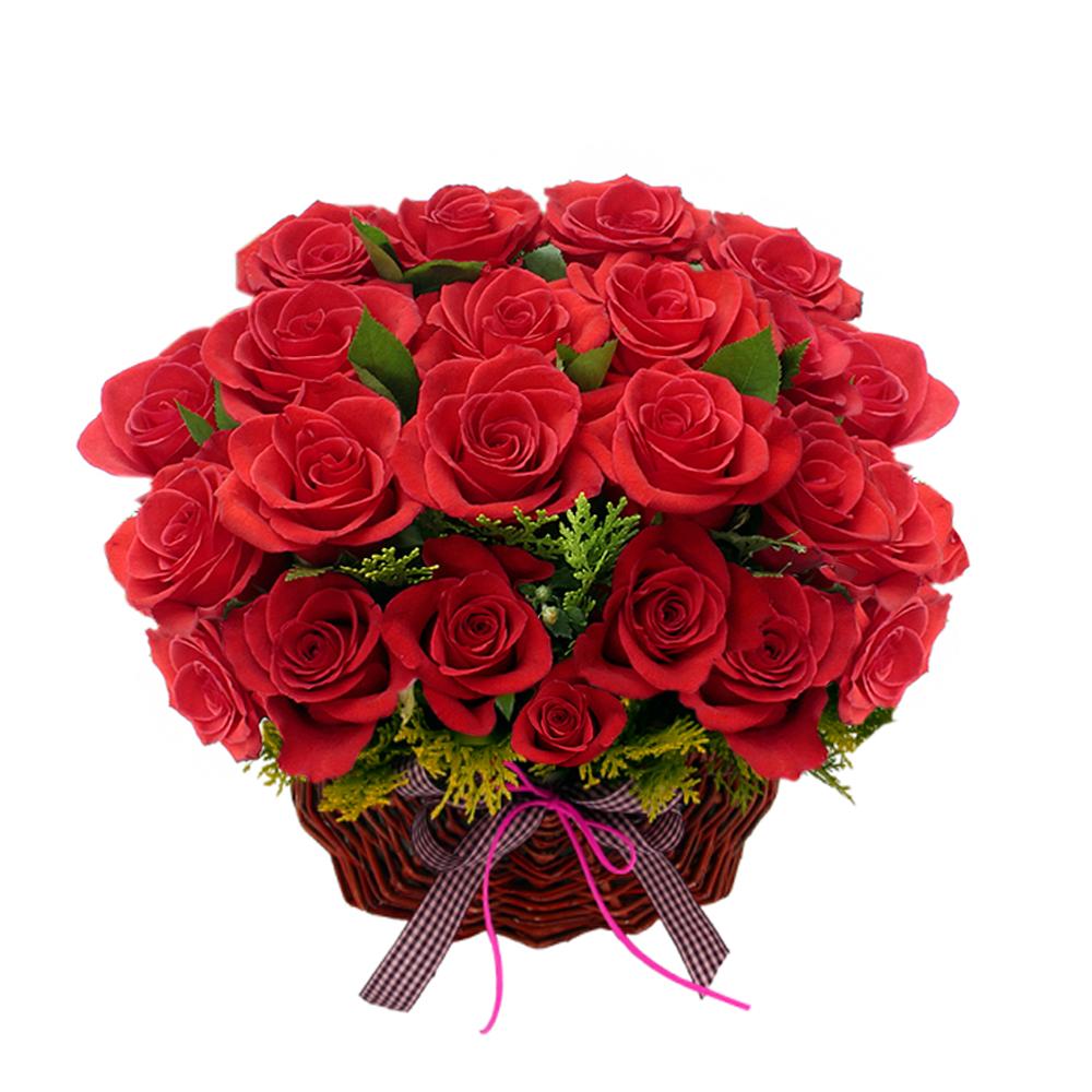 basket flower gift in Korea Seoul
