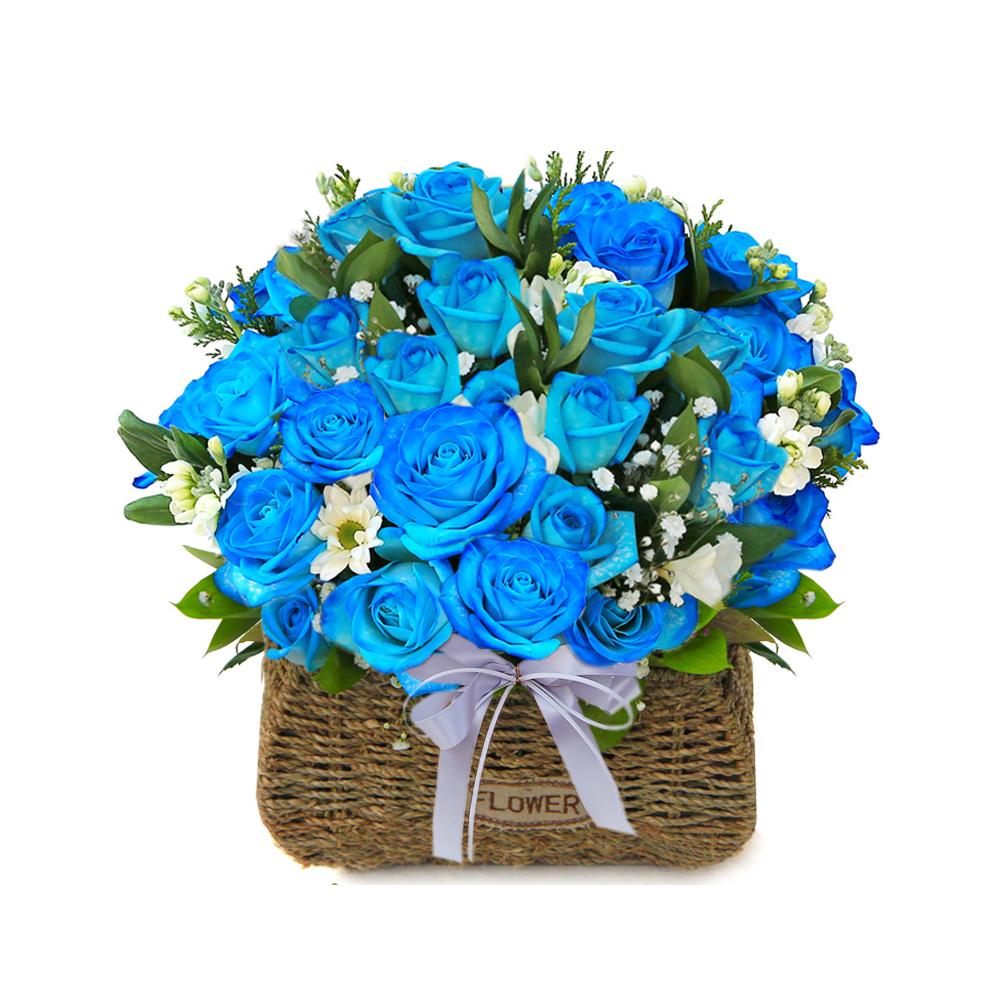 Korea Seoul flower basket delivery service