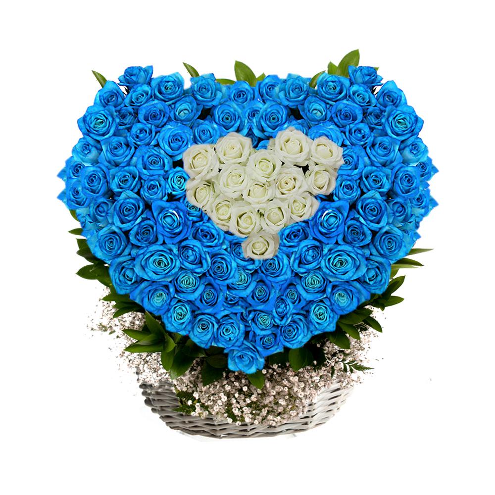 South Korea flower basket delivery service