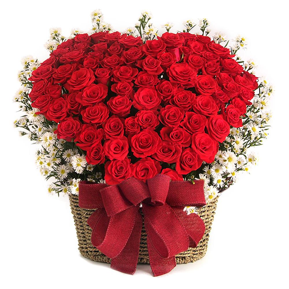 Korea Seoul flower basket gift delivery