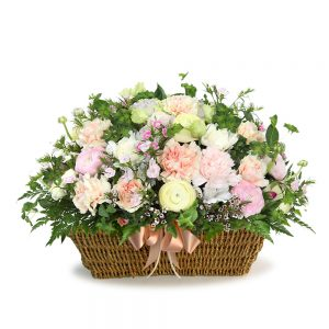 Korea Seoul flower basket gift