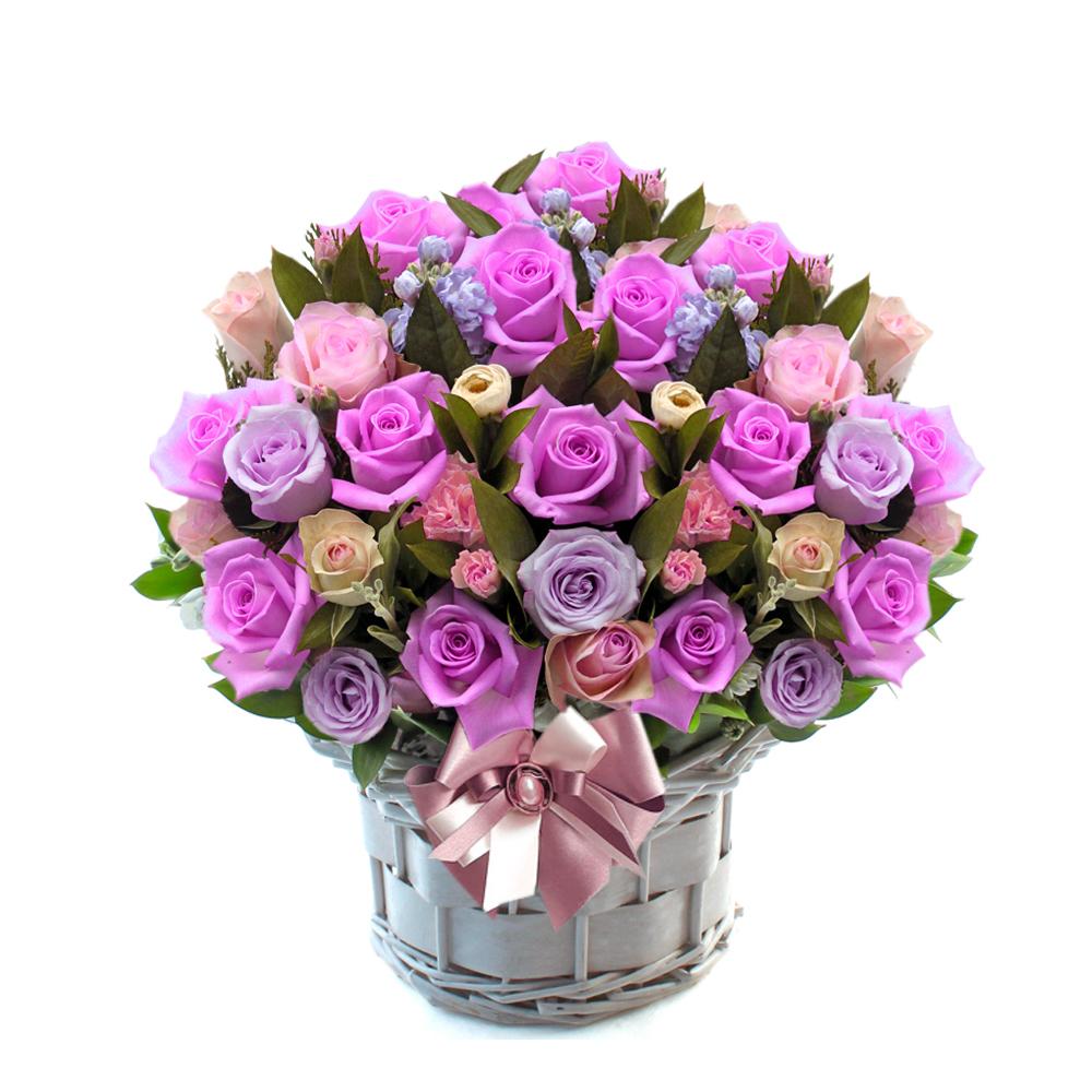 basket flower gift in Seoul