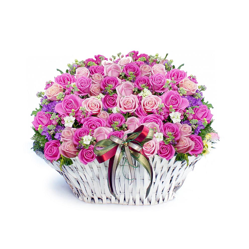 Korea Seoul flower basket delivery