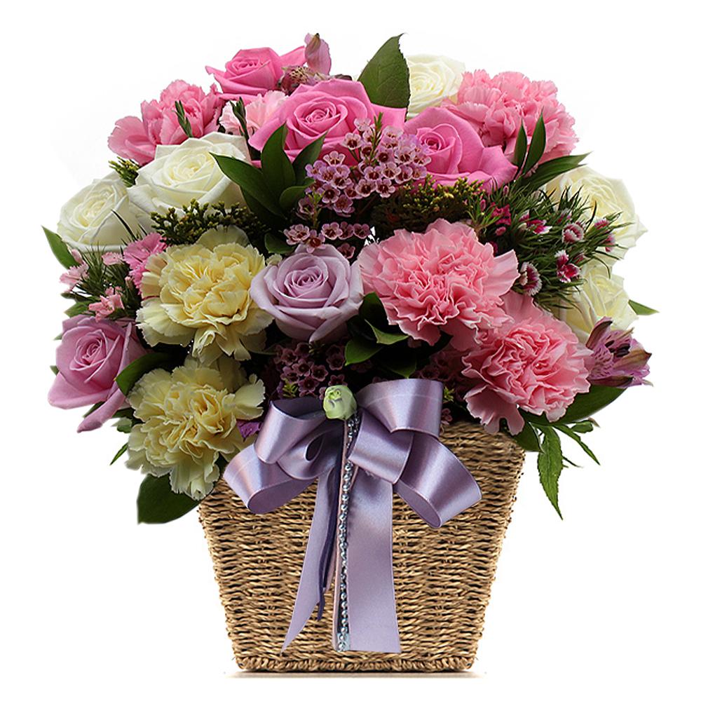 Korea flower basket delivery service