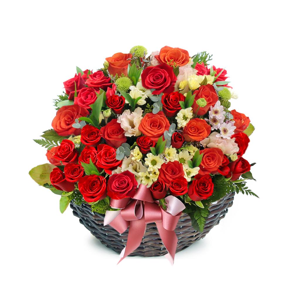 Seoul flower basket delivery service