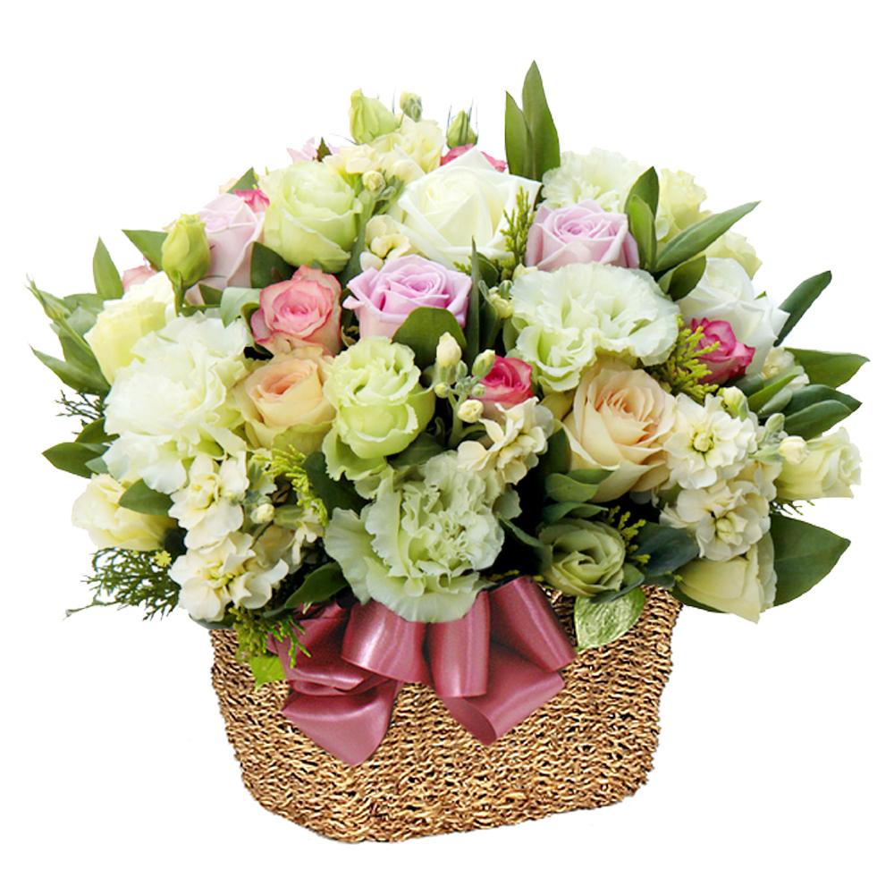 Korea flower basket gift delivery