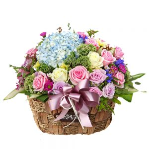 Korea flower basket gift delivery