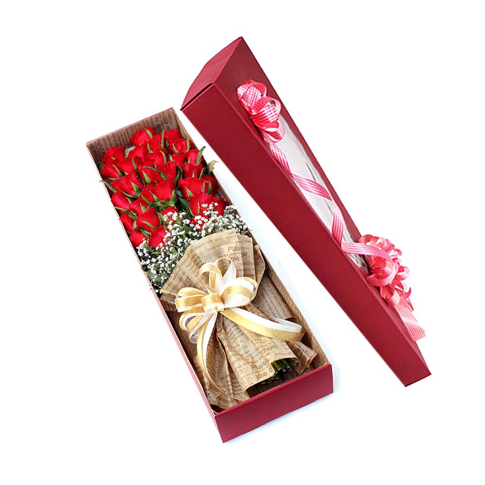 Korea flower box gift