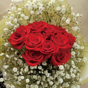 bouquet - 10 red rose